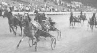 Winning the 1935 Hambletonian